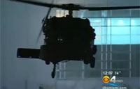 Black Hawk Helicopters Fly Over Miami