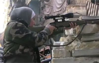 Interview with a Female FSA Sniper