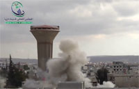 SAF Strikes Damascus with Rockets