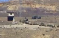 Syrian Rebel IED Attack on SAA Convoy