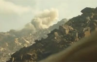 Taliban Hits Fuel Tanker, Troops Reply