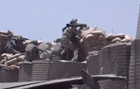 Carl Gustav 82mm in Wardak Firefight
