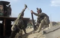 Mortars Fired on Taliban in Wardak