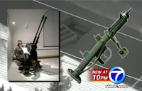 Civilian Busted with Antiaircraft Gun!