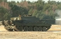 Queen's Royal Hussars Tank Training