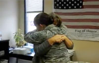 Airman Surprises Mom at Work!