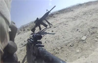 Taliban Ambush EOD with Near Miss