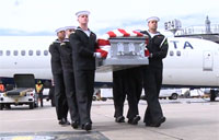 Transfer of USS Monitor Sailors Remains