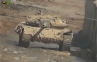 FSA Attacks T-90, SAA Returns Favor
