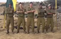 Israeli Soldiers 'Call Me Maybe'