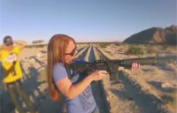 Girls with Shotguns vs. AR-15s