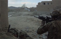 MK-48 and M203's Fired at Taliban