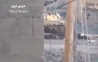 SAA T-72 Tank Engaged by Rebels