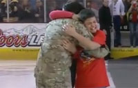 Cyclones Blow Away Military Family