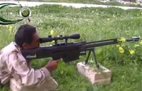 Navy Seal Rifle Spotted in Syria