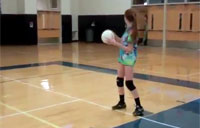 Sweet Surprise at Volleyball!