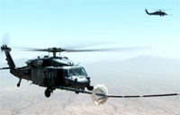 Pave Hawk Aerial Refueling 2013