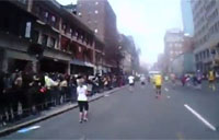 Runners POV of the Boston Attack