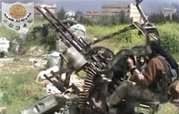 FSA Takes Army Post, Get Weapons
