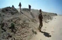 Wounded Soldier Rescued in Ambush