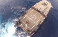 Navy Tests Tools Against Smugglers