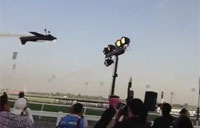 Dubai World Cup Aerobatic Flybys