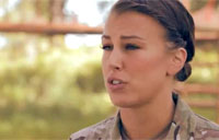 Female Instructor at SERE School
