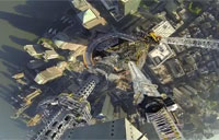 WTC Spire's View Looking Down!