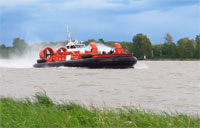 CG Hovercraft Rollin' on a River
