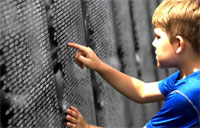 The Vietnam Traveling Memorial Wall