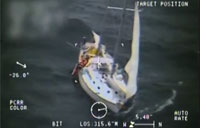CG Rescues Sailor in Cape Cod