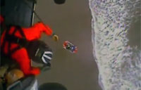 Teen Girl Saved from Surf in Oregon