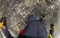 Navy Seal POV of Parachute Jump