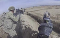 1st Plt 173rd ABN Firefight in Ghazni