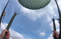 Paratroopers Earn German Jump Wings