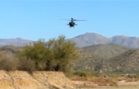 Buzzed by an Apache in the Desert