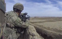 SAW and 40mm vs. Insurgents