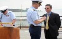 Man Earns USCG Lifesaving Medal