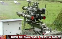Russian Counter-Terrorism Robots