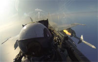 F/A-18C AIM-7 Missile Shooting