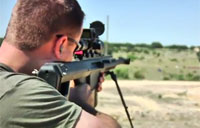 Sniper Hits Target 1,000 Yards Out