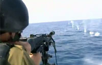Israeli Navy Demos Firepower