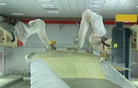 Boeing Robots Paint Aircraft Wings