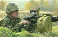 Automatic Grenade Launcher System