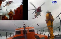 Hastings RNLI Exercise with USCG