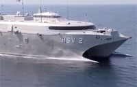 US Navy HSV 2 Swift Catamaran