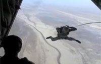 Iranian Airborne Jumps from C-130