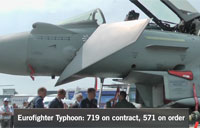 Paris Air Show: Eurofighter Typhoon