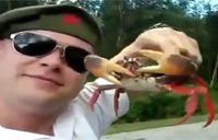 Russian Soldier vs. Crabby Crab