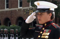 First Female Sgt Major Takes the Helm!